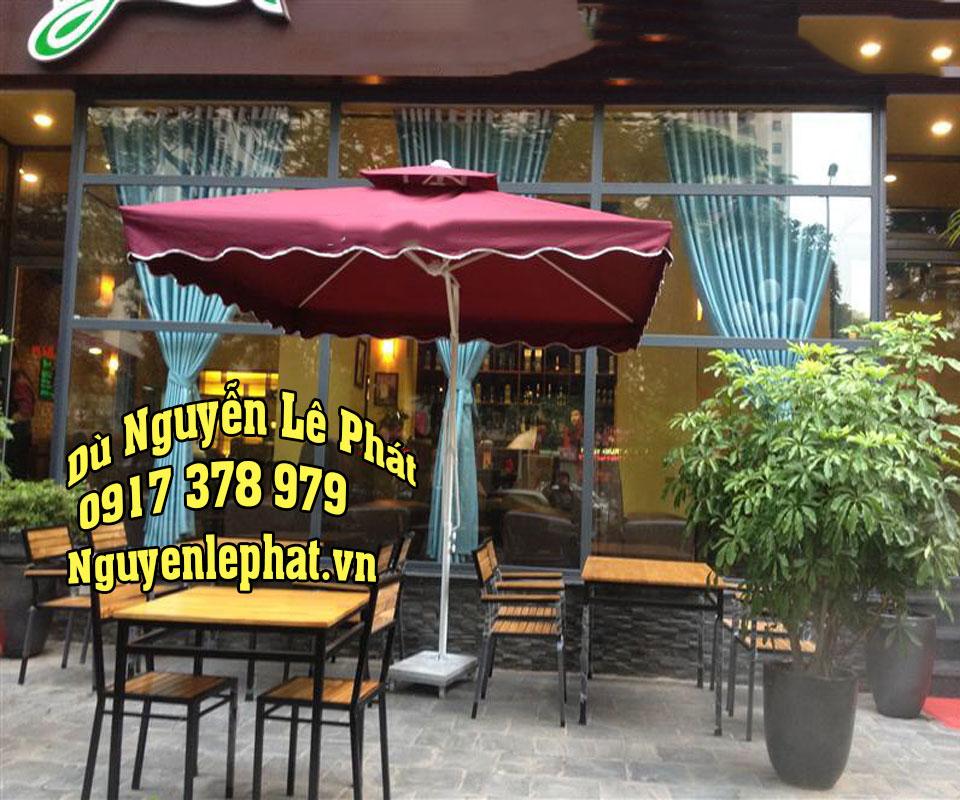 Giá Che Nắng Quán Cafe Lệch Tâm Bao Nhiều Tiền #1Cây tại tphcm