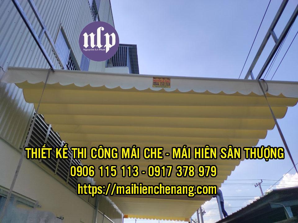 Lắp Đặt mái xếp tại Đồng Nai