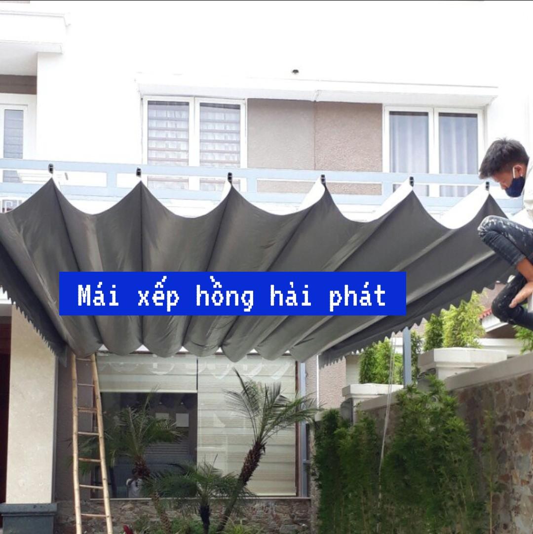 Mái hiên cố định tphcm giá rẻ lợp ngói, đổi mái dốc trước nhà hoặc sang các bên trước và hông nhà.