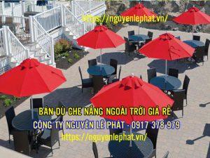 Ô Dù Che Nắng Quán Cafe Quận 7 Nhà Bè TPHCM