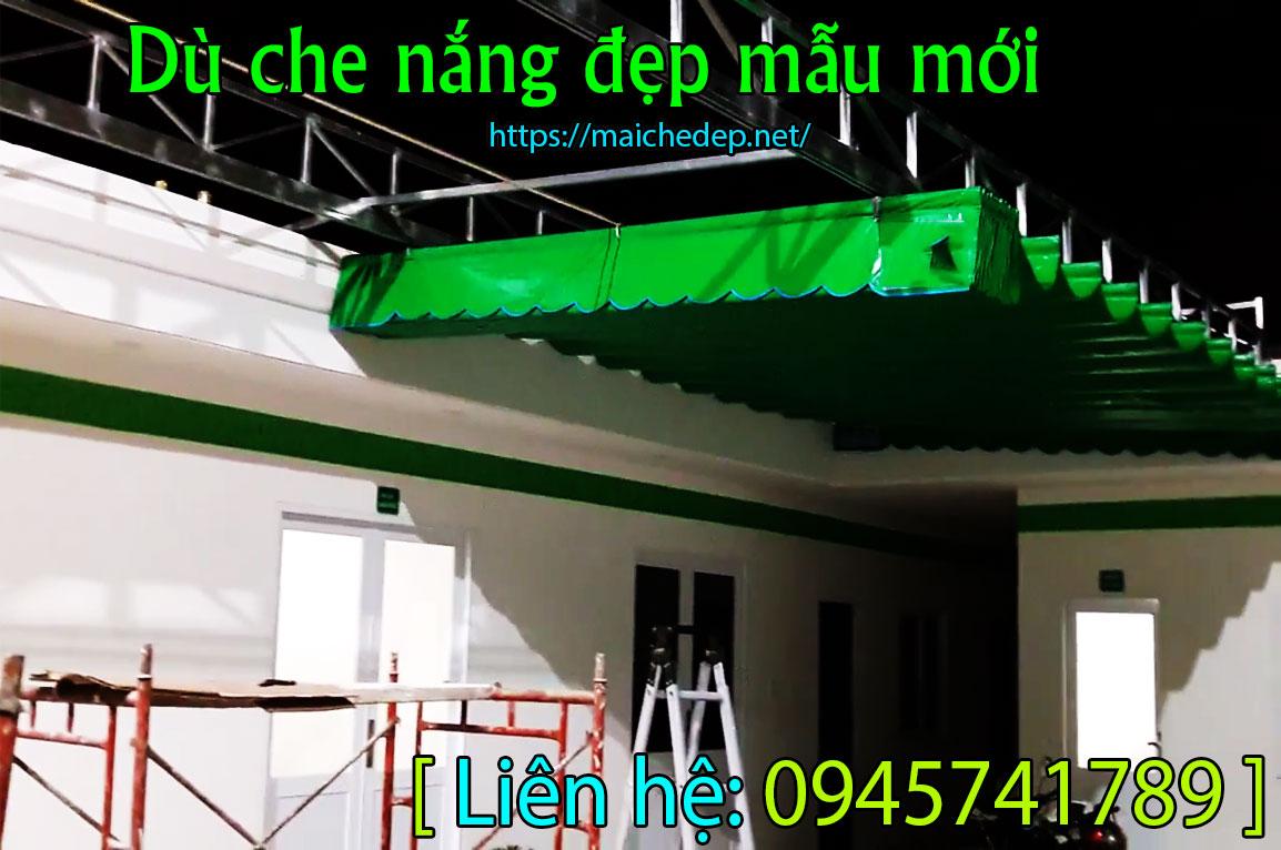 Lắp đặt làm mái che – bạt hiên – Mái che tphcm giá rẻ