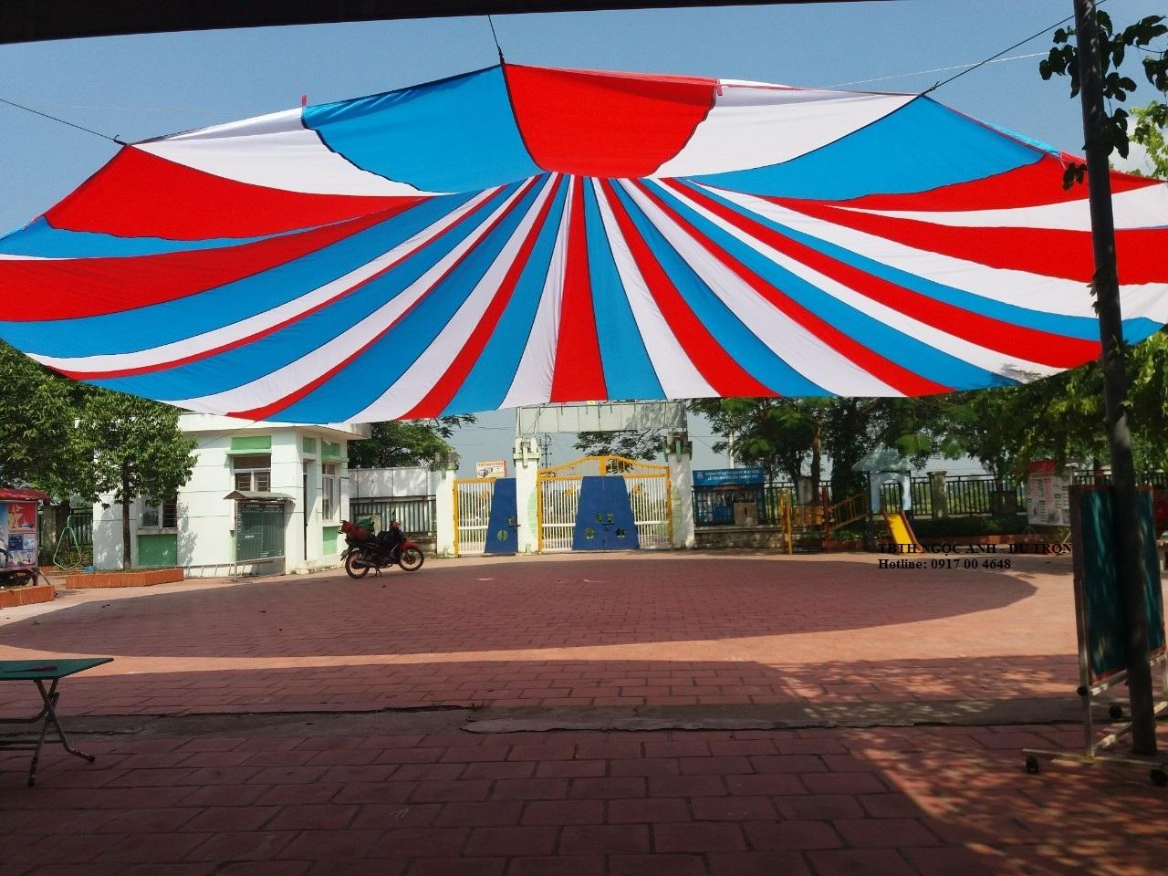 Dù che nắng sân trường- Bạt Kéo, Mái Bạt   Hàng Chính Hãng, Chất Lượng