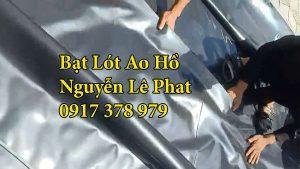 Bạt lót hồ chứa nước nuôi cá tại Đồng Nai