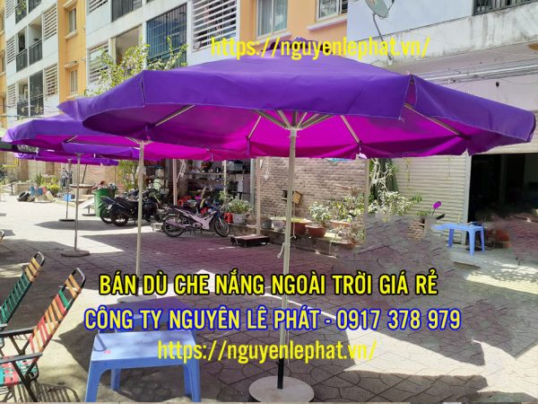 Địa Chỉ Bán Dù Che Nắng Quán Cafe Ngoài Trời tại Biên Hòa Đồng Nai