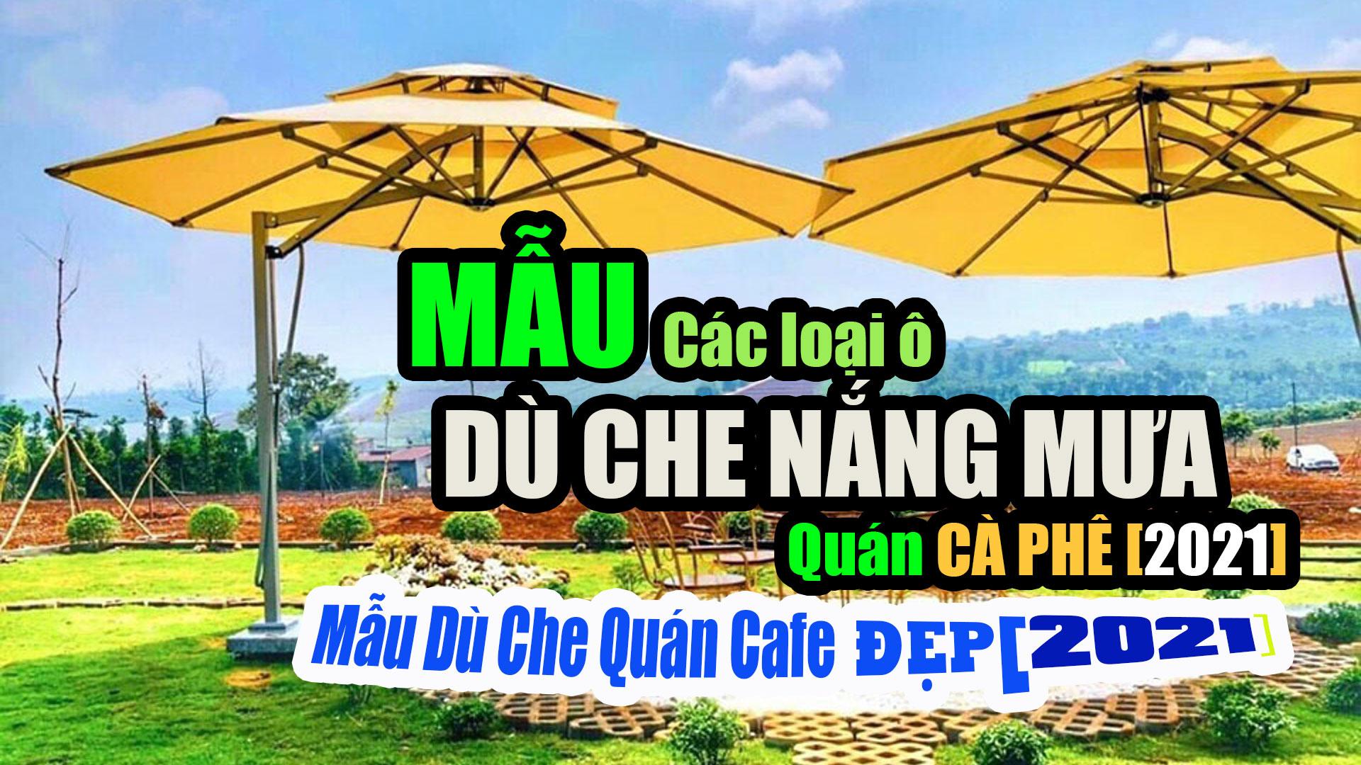 Dù Che Nắng Quán Cafe Bình Dương