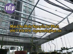 Báo Giá Thợ Làm Mái Tôn Poly , Mai Che Poly Giá Rẻ